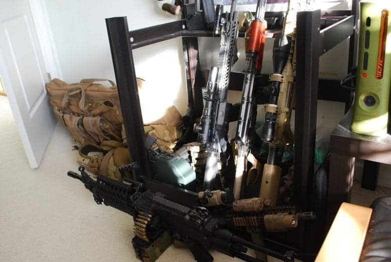 airsoft storage ideas