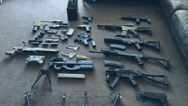 airsoft weapon selection