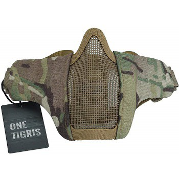 "OneTigris 6"" Foldable Half Face Mask"