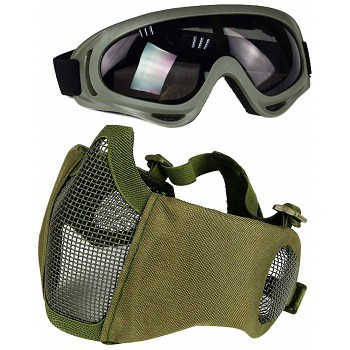 Aoutacc Airsoft Mesh Mask