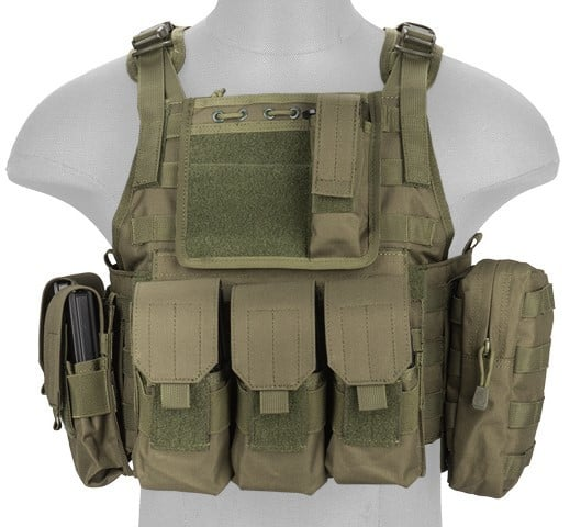 LANCER TACTICAL NYLON TACTICAL ASSAULT PLATE CARRIER Review