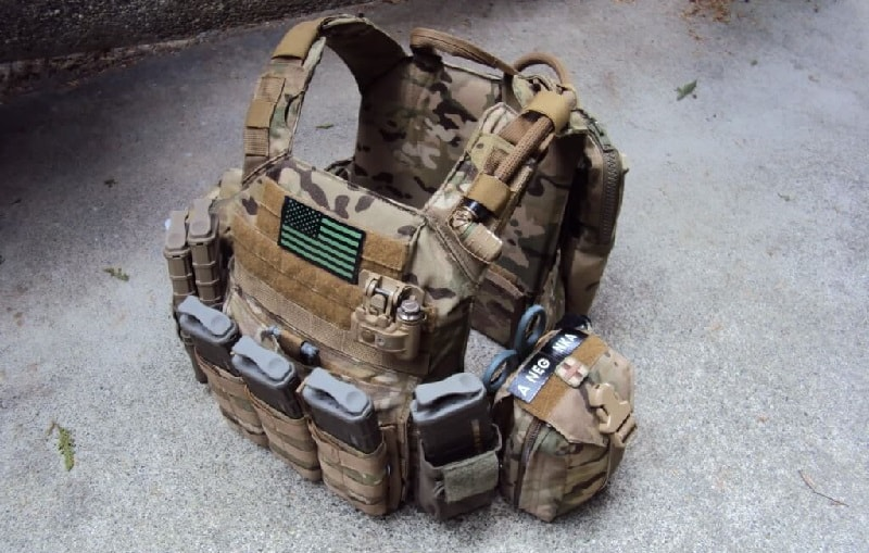 Plate Vest for Airsoft Vest