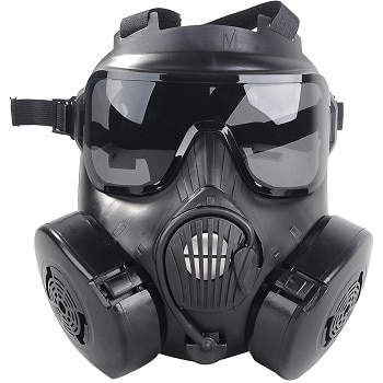 Outgeek M50 Airsoft Mask Full Face Skull CS Mask