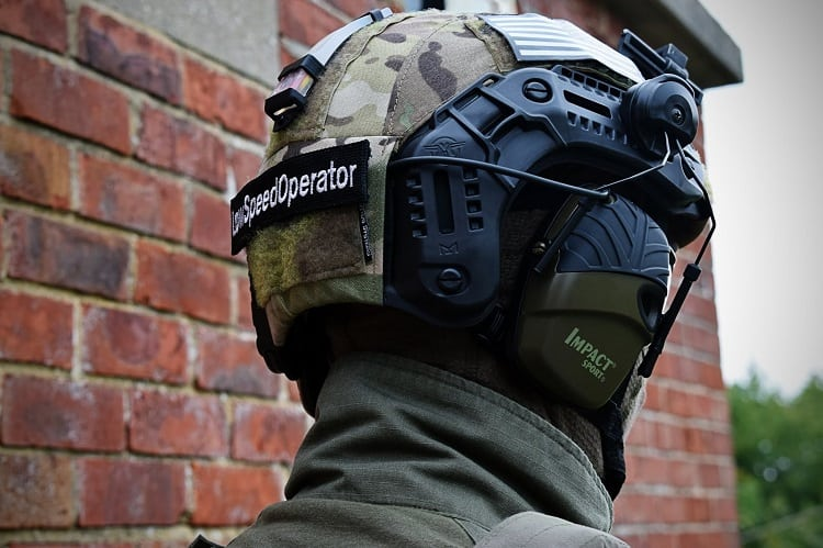 Airsoft Helmet With Ear Protection