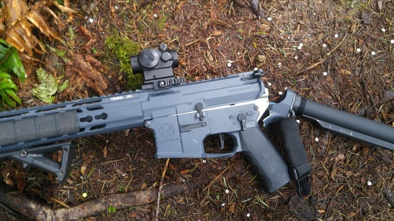 Broken Airsoft Rifle