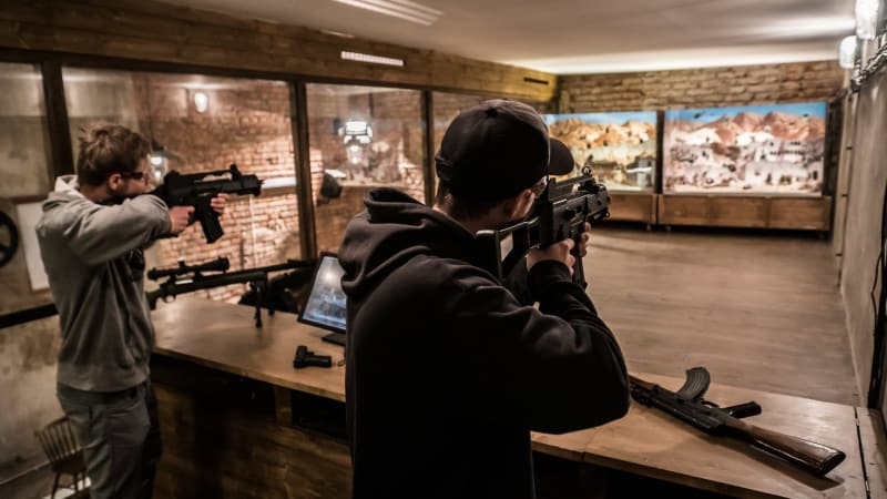 Basics of shooting airsoft guns