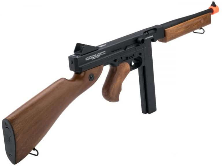 Thompson M1A1 Electric Full Metal Airsoft Rifle Review